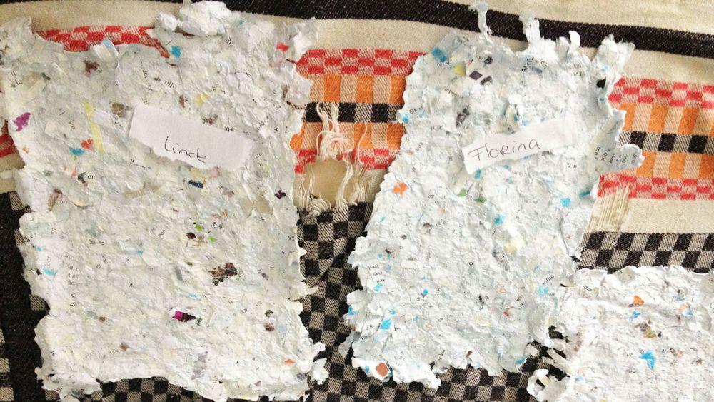 Oud-papier omtoveren tot een gloednieuw blaadje
