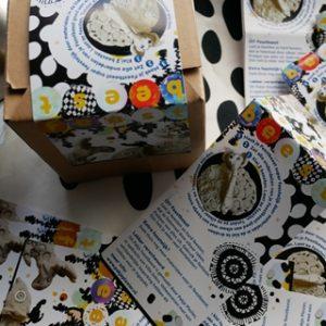 Pakje Feestbeest is gemaakt in opdracht van Villa Zebra